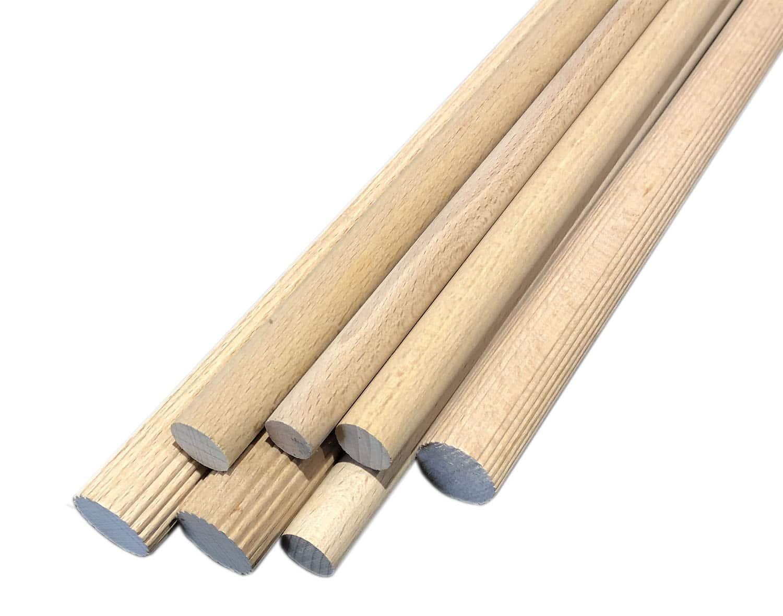 Bwood.17 fabrique vos bois cylindriques striés ou lisses de longueur standard 1m