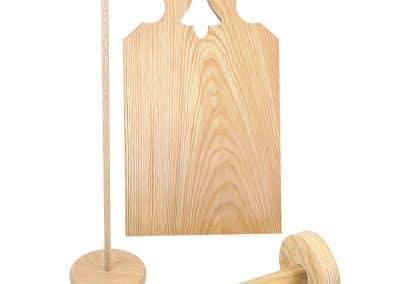 Bwood.17 fournit des bois ronds et bâtons ronds pour les fabricants de jouets en bois
