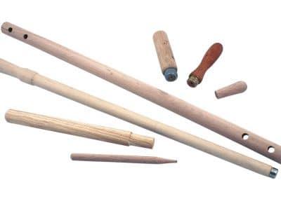 Bwood.17 Spécialiste des bâtons ronds, fabrique des manches et poignets pour les professionnels