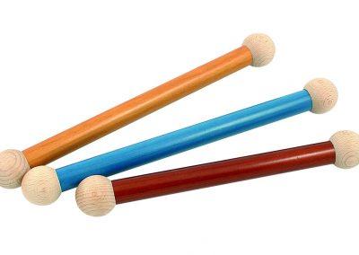 Bâtons ronds vernis de différentes couleurs pour vos affiches et kakemonos